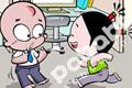 小破孩办公室四格漫画系列七