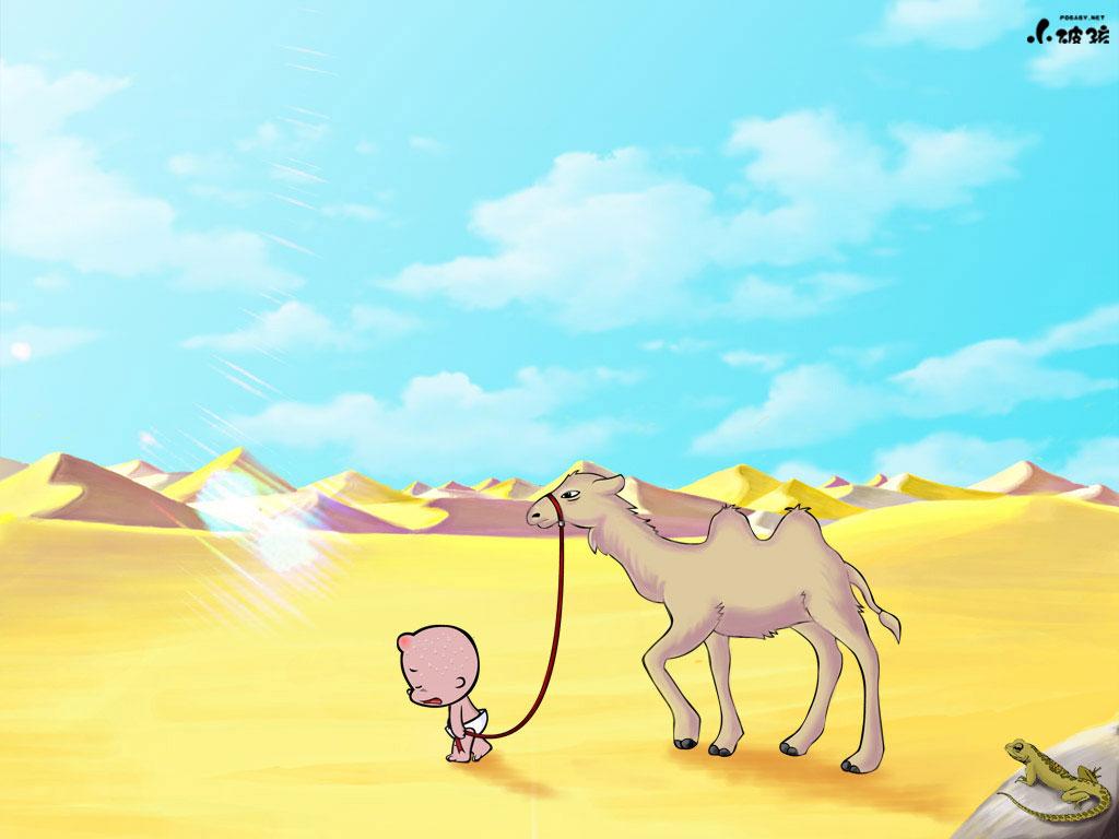 小破孩2014年6月壁纸-沙漠-小破孩官方网站