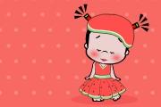 小破孩2017年7月壁纸-清凉西瓜装