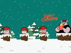 小破孩2019年12月壁纸-庆圣诞